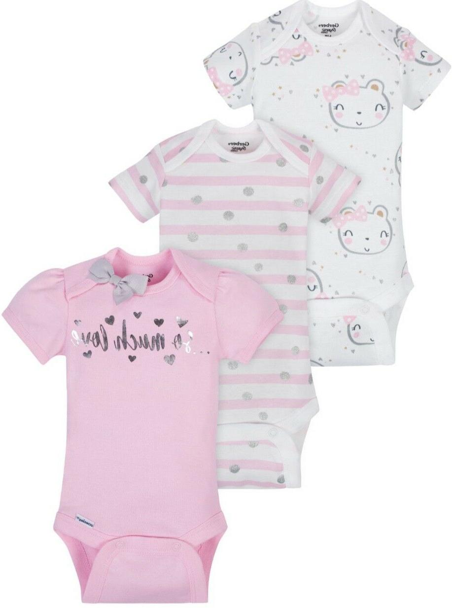 baby girl organic cotton onesies bodysuits 3