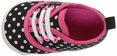 Luvable Friends Baby Girl's Canvas Sneakers