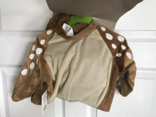 Baby Lil Deer Halloween Dress Size Months