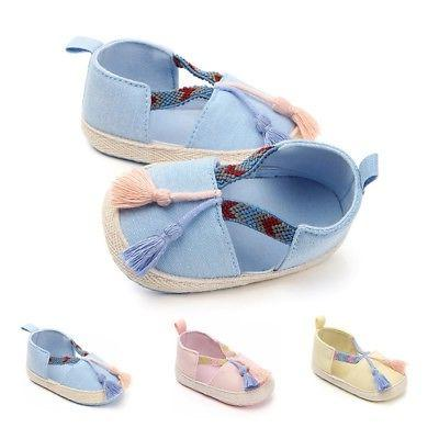 Baby Girl Shoes Toddler Infant First Walkers Newborn Soft So