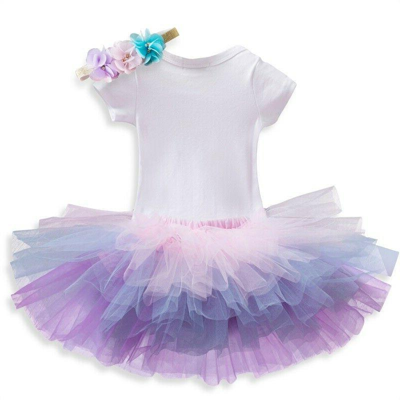 Baby Skirt Headband Outfit