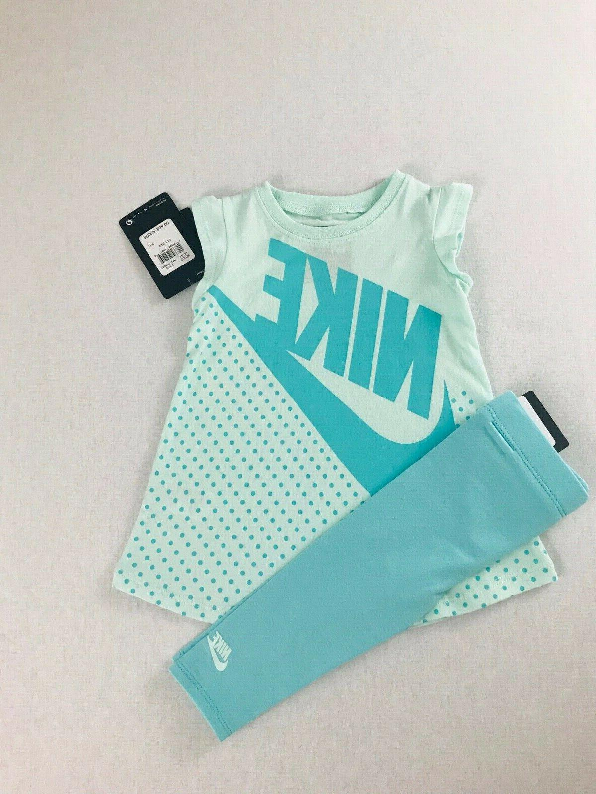 Nike Girls' 2-Piece 12months NWT MSRP$