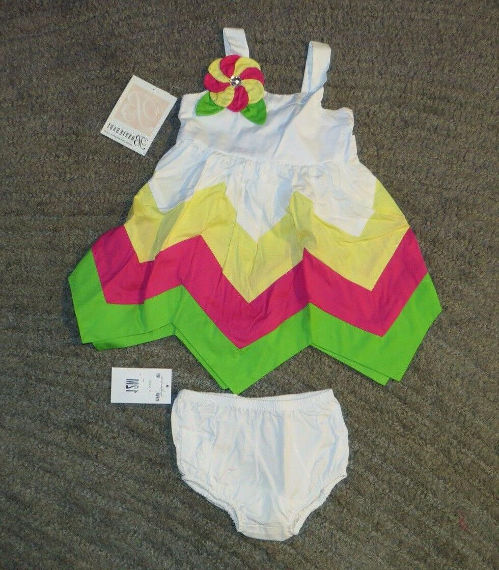 baby girls 2 piece outfit dress