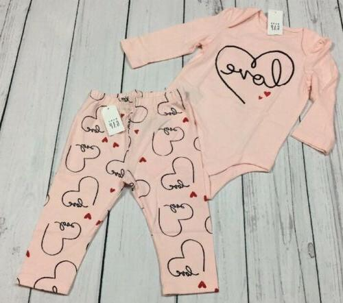 baby girls 6 12 months love outfit