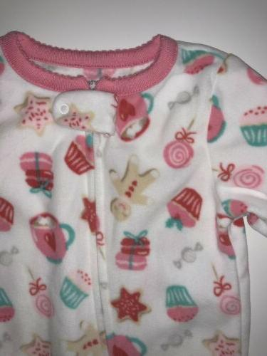 Baby Girls Clothing Footed One Piece Size 12 months Old