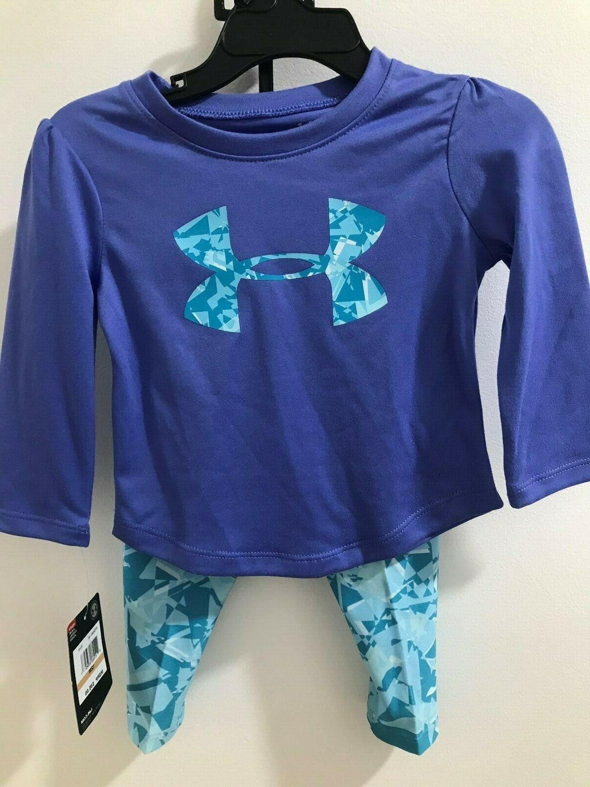 Under Armour Girls Tee&Shatter NWT