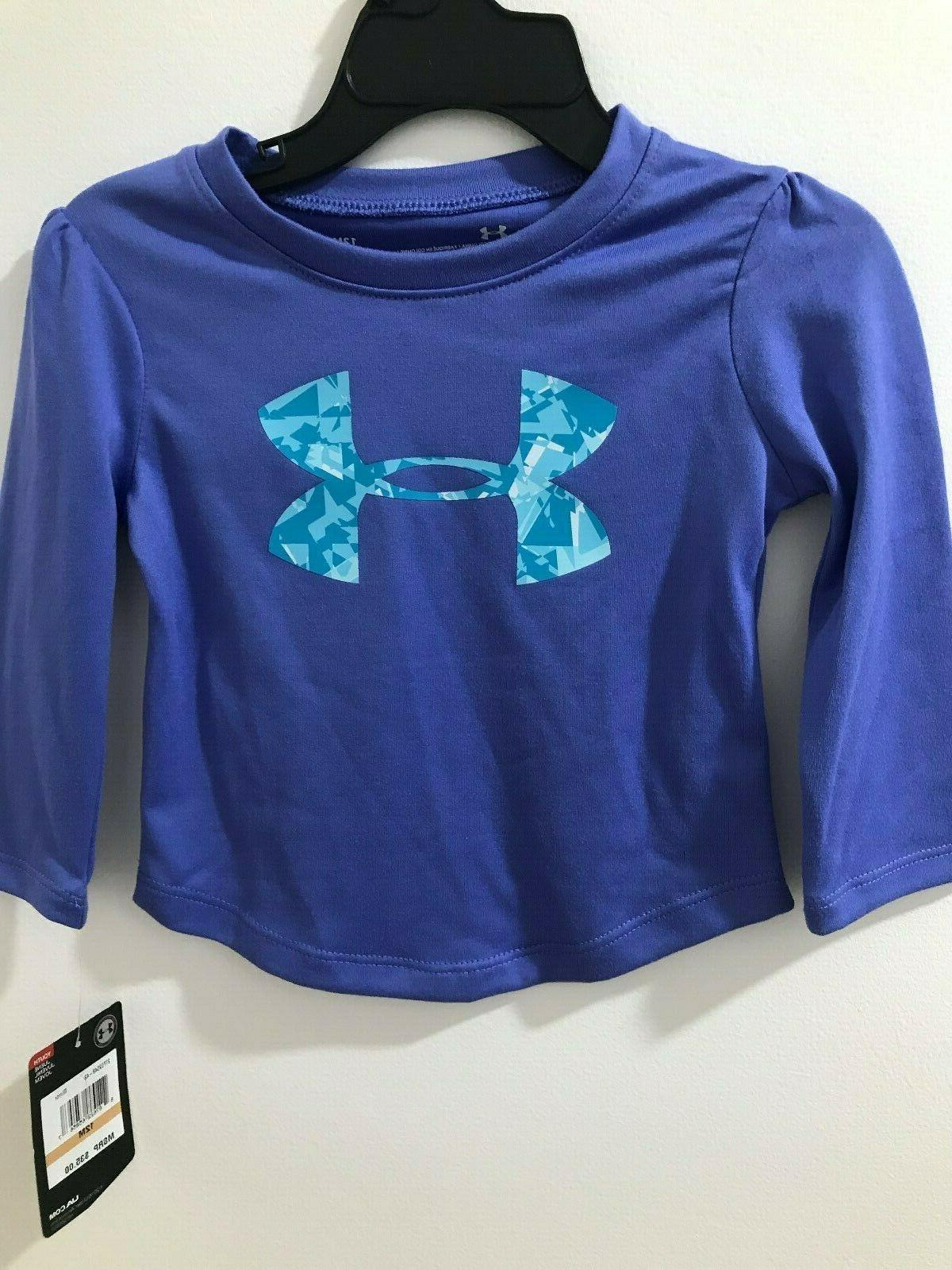 Under Armour Girls Mirror Logo Graphic Tee&Shatter Leggings $35 NWT