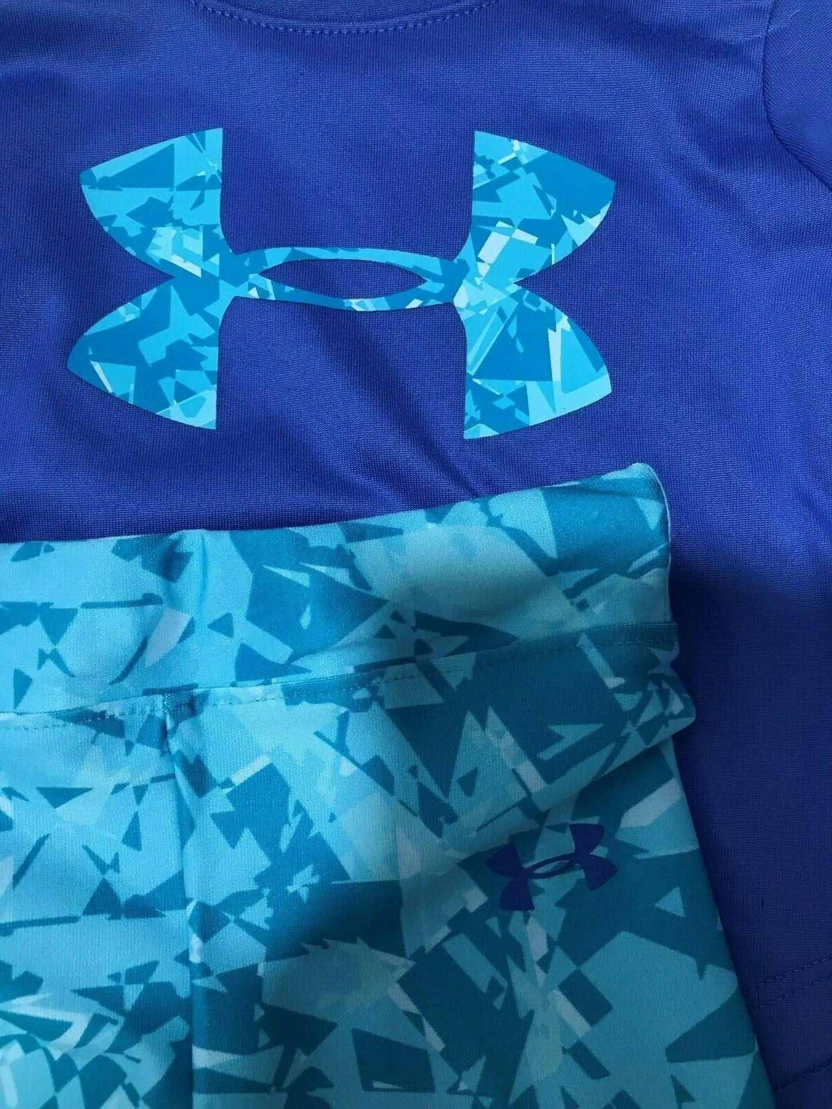 Under Armour Baby Girls Mirror Tee&Shatter Set NWT