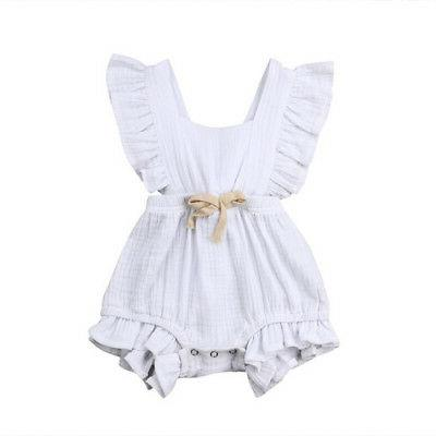 Baby Newborn Romper Bodysuit Jumpsuit Sunsuit Summer