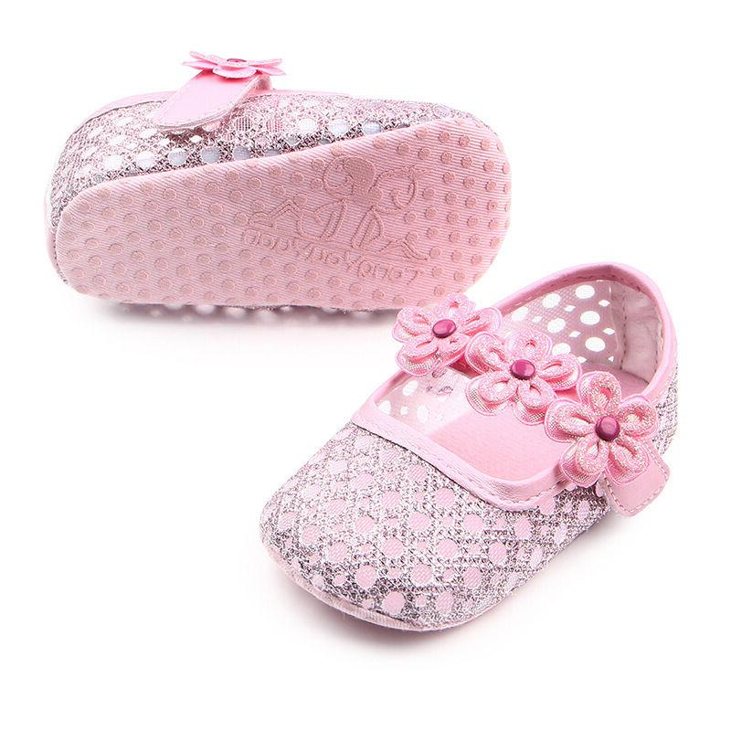 Baby Girls Princess Summer Shoes Crib First Walkers