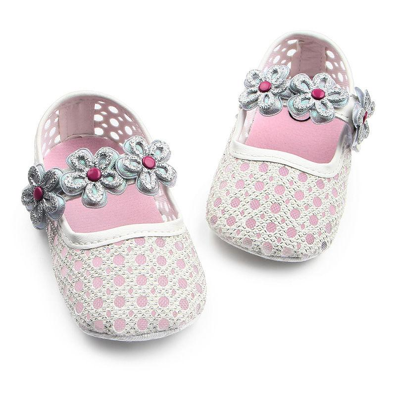 Baby Girls Shoes First Mary Jane Hollow