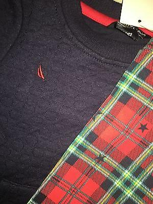 BABY GIRLS SIZE MONTHS NAUTICA PLAID SET NWT
