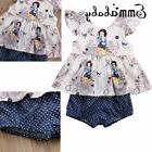 Emmababy Baby Girls Vest Tops Shorts Briefs+T shirt 2pcs Cut