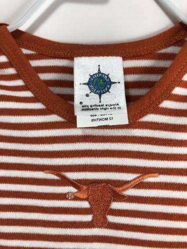 Baby One Months Longhorns Creative NWT