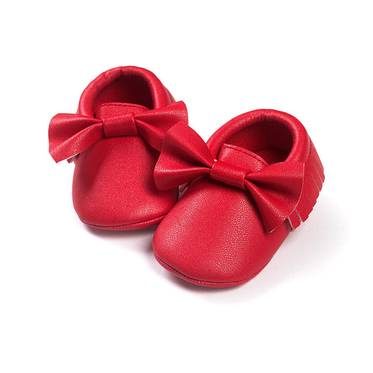 Baby Shoes Newborn Pram Princess Moccasins