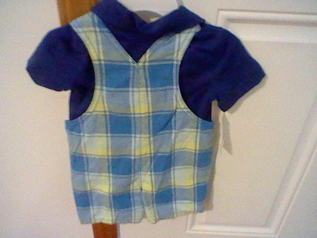 BRAND INFANT BOYS SIZE 12 MONTHS WONDERKIDS SHORTALL OUTFIT