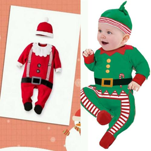 Christmas Girl Clothes Bodysuit