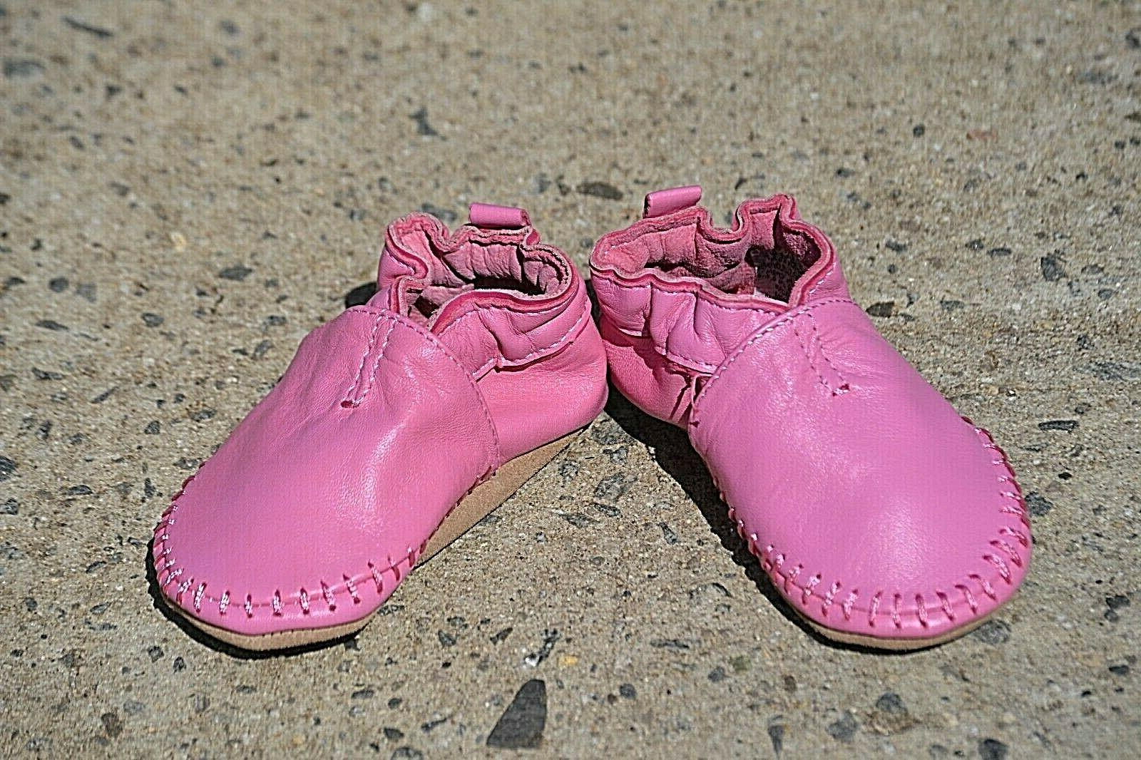 Robeez Classic Shoe Leather Baby's 6-12 Months