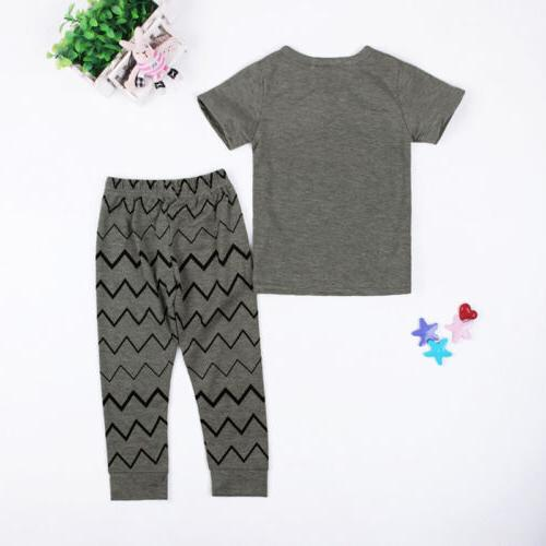 Monster Tops Pants Set