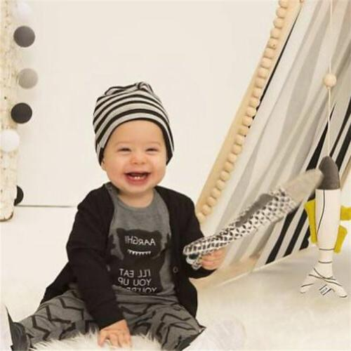 Cotton Baby Monster Pants Outfit Set