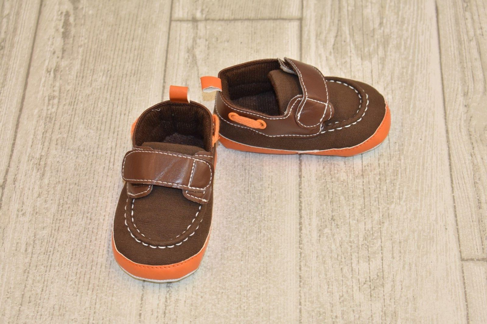**Luvable Friends Crib Shoes, Infant Boy's Size 12-18 Months