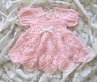 "Crochet Pattern for ""Baileigh"" Baby Dress by REBECCA LEIGH -"