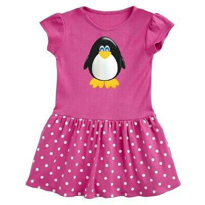 cute penguin infant dress animals