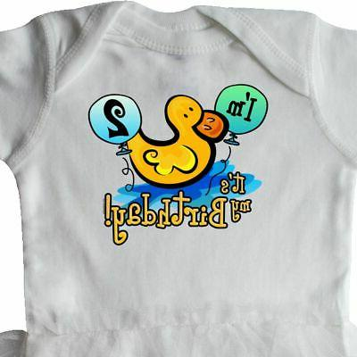 Inktastic Ducky Infant Bodysuit Balloons Pond For