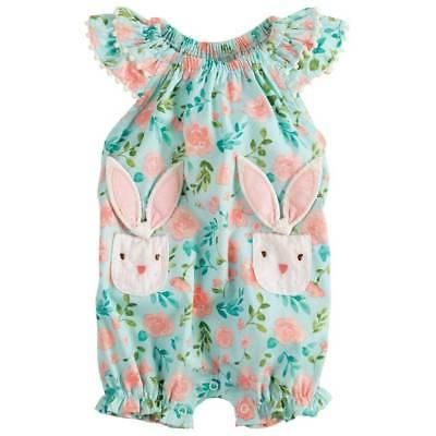 easter floral bunny bubble 0 3m 3