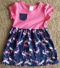 Gymboree Flamingo Dress Baby Girl 12-18 Months NWT