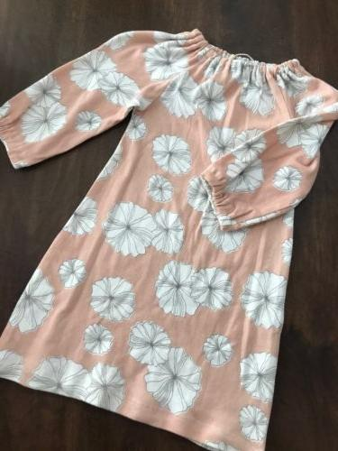 Milkbarn Baby, Floral Pink/White dress with bloomers, NWT, s