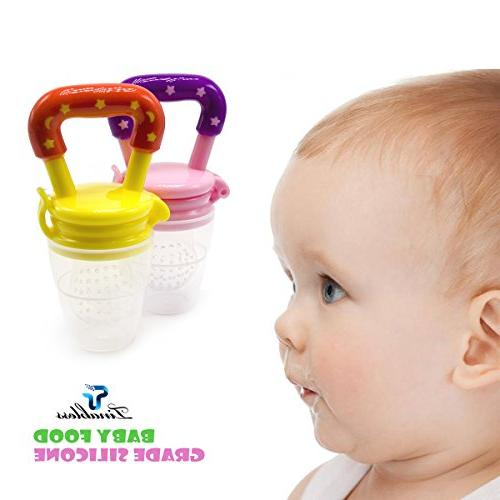 Baby Feeder Tinabless Fresh Feeder Teething Pacifier Infant, Toddlers L