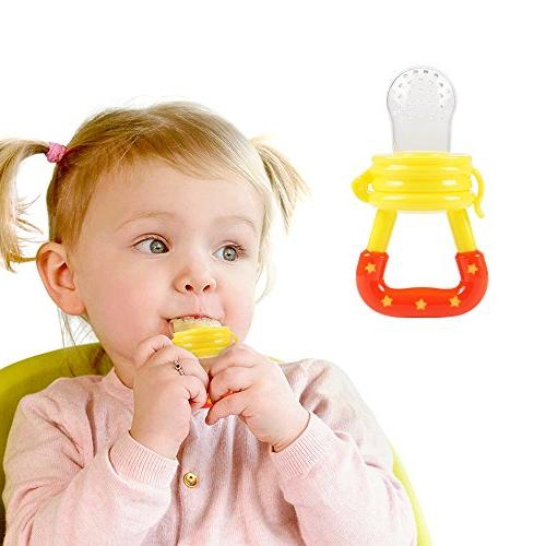 Baby Feeder Tinabless Baby Feeder Teething Pacifier Strap Infant, - L