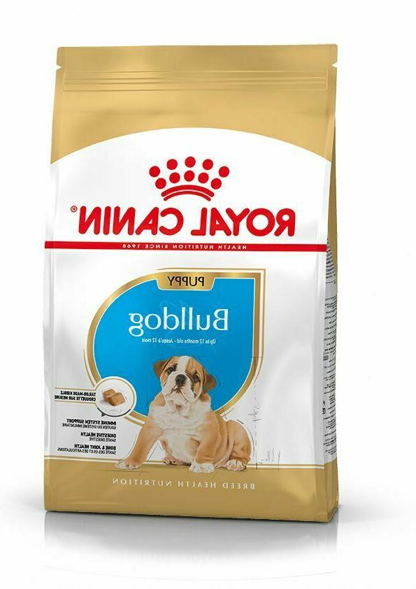 food for puppies bulldog from 12 months