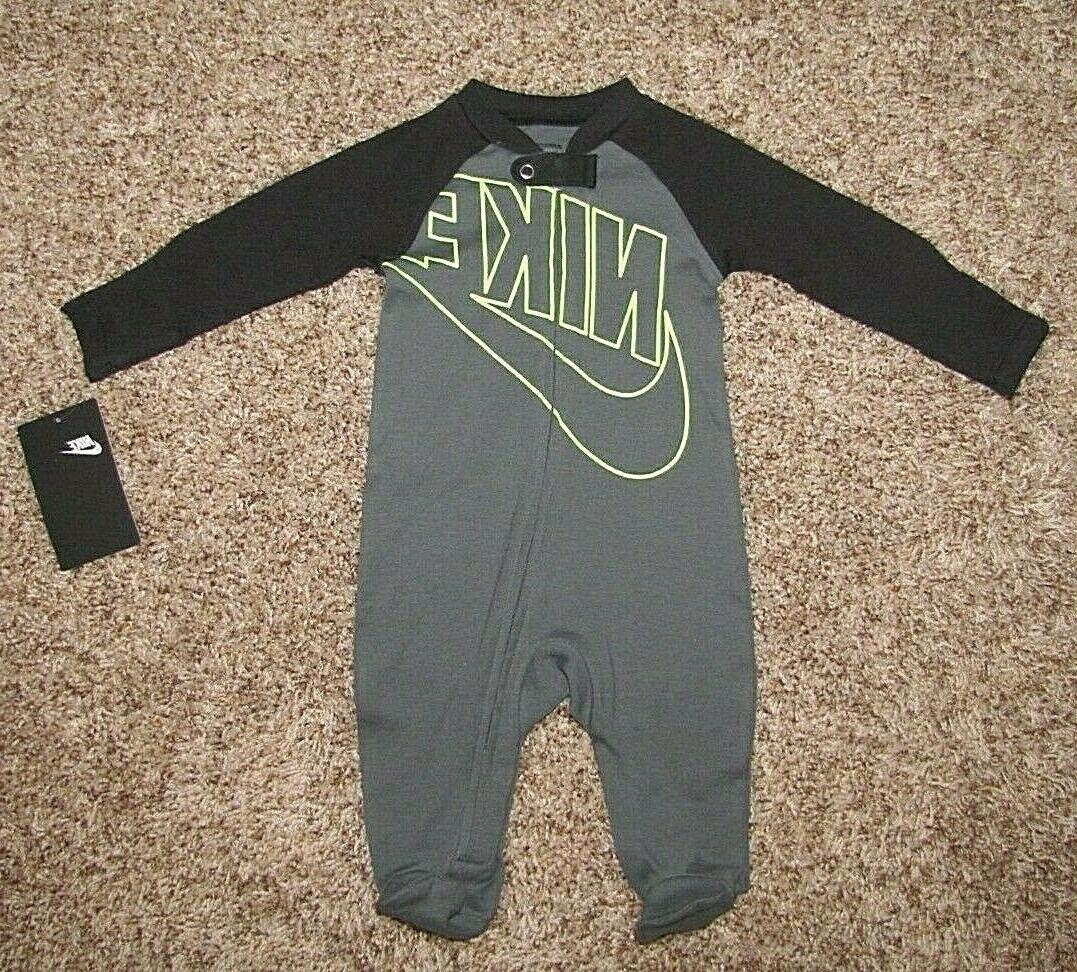 NIKE Futura Footed Baby Infant 6 9 Months Boys Girls Pajama