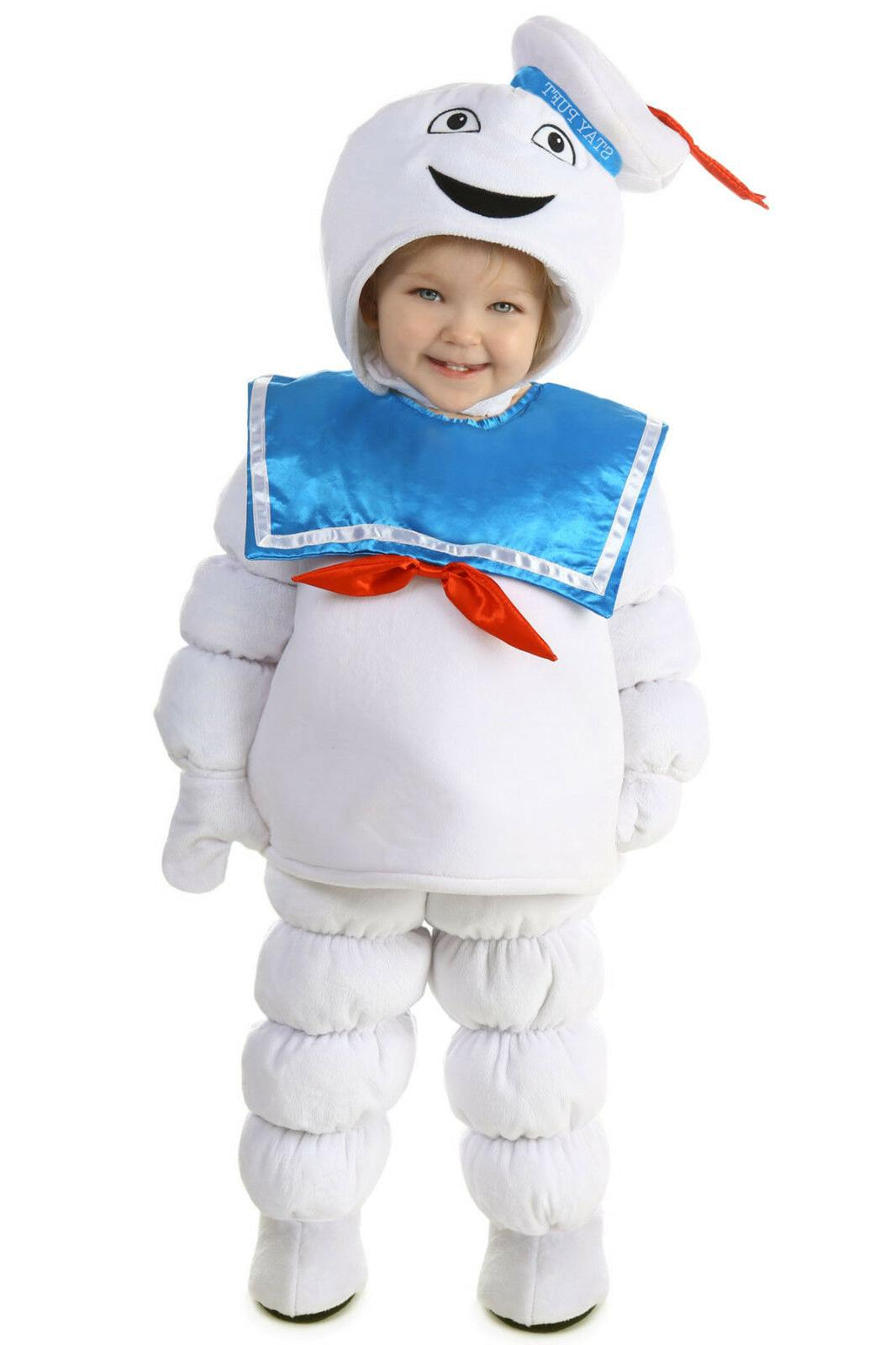 ghostbusters stay puft marshmallow man costume puffed