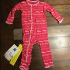 Kickee Pants Girls 6-12 Months Southwest Pink Pear Coverall