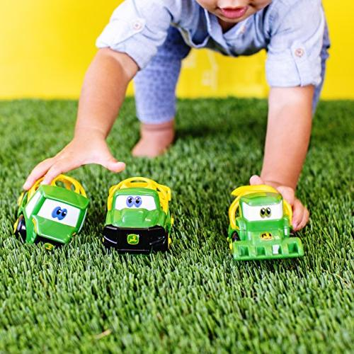 Oball Go Grippers Deere Ol' Push Vehicle Ages 12