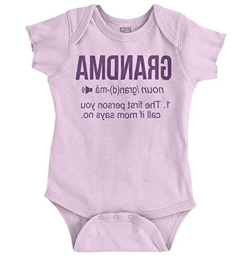 grandma definition funny meaning baby gift romper