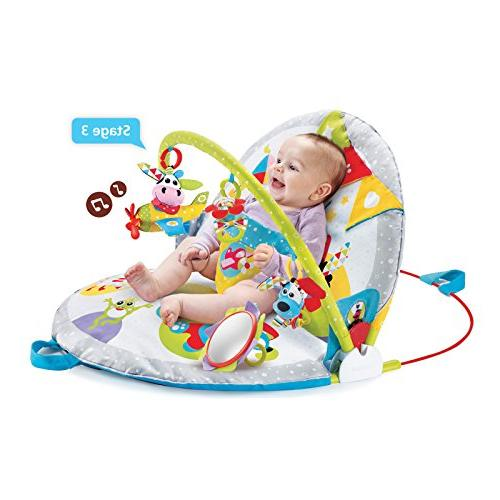 Yookidoo Sit-Up Mat Infant Activity Toy for Baby 0 12