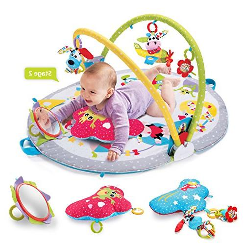 Yookidoo Lay to Sit-Up Play Activity for Baby 0 12 Month