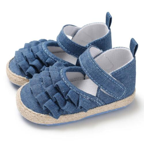 Hot Toddler Shoes Bowknot Soft Sneakers US