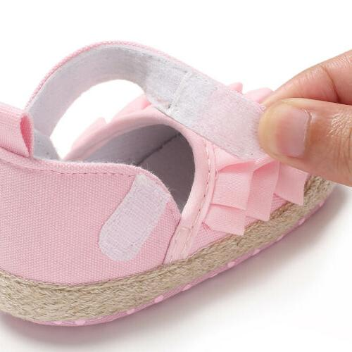 Hot Toddler Shoes Newborn Soft Sole US
