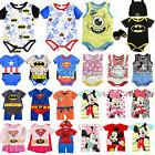 Infant Baby Boy Girl Disney Marvel Cute Romper Jumpsuit Body