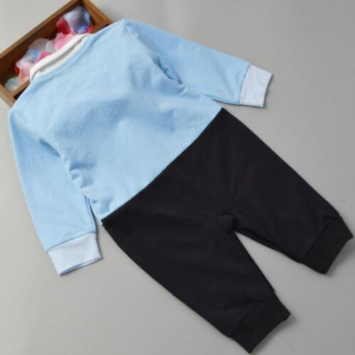 Infant Baby Gentleman Clothes Bodysuit