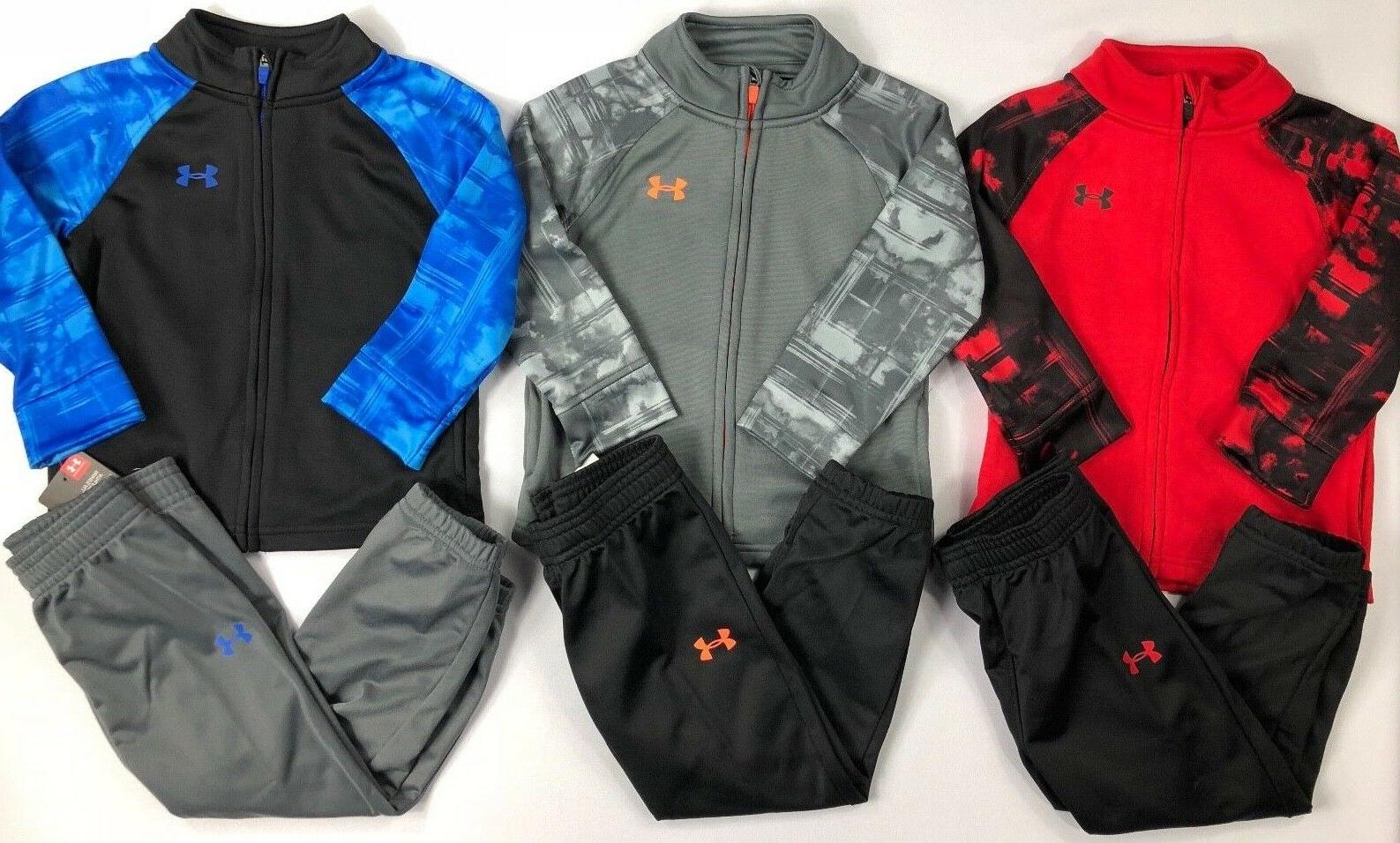 Infant Baby Boy's Under Armour Jacket and Pants Outfit Set