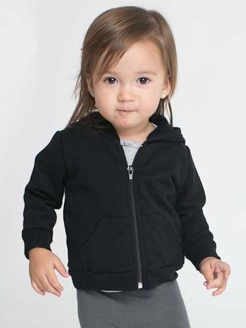 American Apparel Infant California Cotton Zip Hoodie Toddler