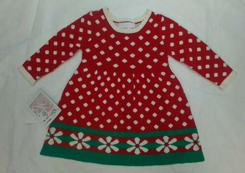 Bonnie Dress Red 12 months Christmas