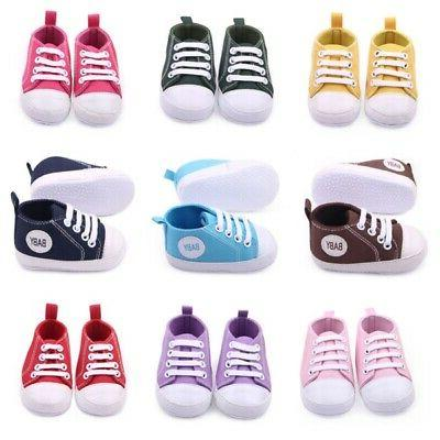 Infant Toddler Girl Shoes Sneaker Newborn to 12