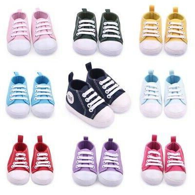 Infant Toddler Boy Girl Soft Shoes 12 Months
